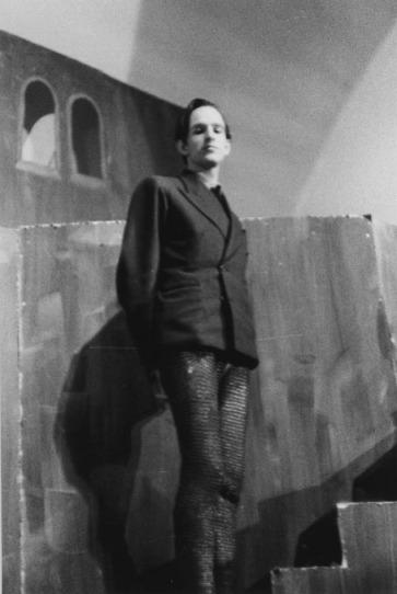 """Bergman no papel de Duncan, na primeira montagem de """"Macbeth"""" que dirigiu, em 1939"""
