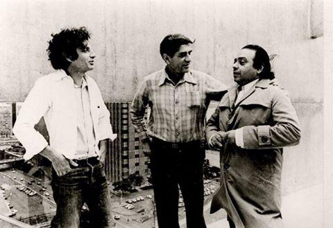 Rogério Sganzerla, Fernando Coni Campos e Cosme Alves Netto